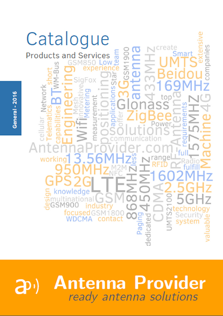 Antenna Catalogue 2016